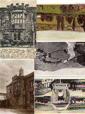 Five postcards of Monmouth