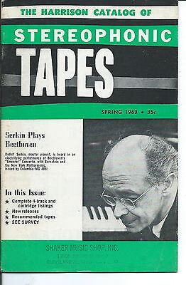 NA-049 - Harrison Catalog of Stereophonic Tapes, Spring 1963