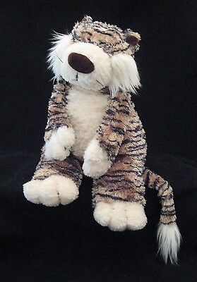 "JELLYCAT ""Junglie"" 15"" Plush, Stuffed TIGER, Soft Colors and Fur"