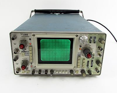 Tektronix 466 Dual Trace 2-Channel 100MHz Storage Oscilloscope - OPT. 93
