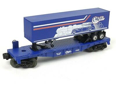 Lionel 6-52168 Carail Flat Car With Trailer O Scale Model Trains Freight Cars