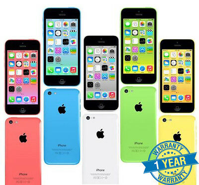 Apple iPhone 5C  16/32GB - All Colours - Factory Unlocked Sim Free