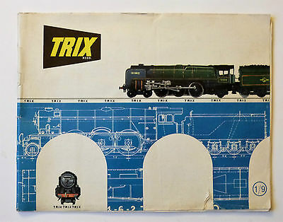 TRIX 1964 Catalogue: 44 pages & Price List, Please See Pictures.