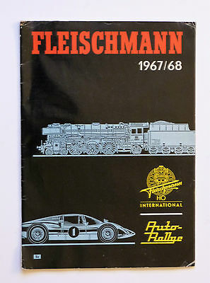 FLEISCHMANN 1967/68 Catalogue: 41 pages & Price List, Please See Pictures.