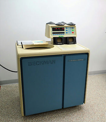 Beckman L-70 Optima Ultracentrifuge Floor Centrifuge w/ Manual 40,000 RPM