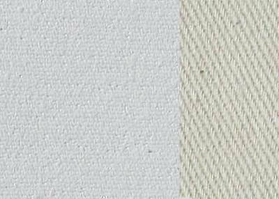 Primed Canvas Painting 0,48m to 1,08m wide x 10m rolls - cotton white primed