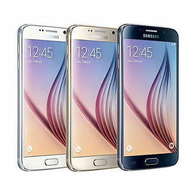 Samsung Galaxy S6 G920V Unlocked GSM - Verizon - AT&T - T-Mobile 32GB 64GB 128GB