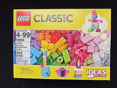 Lego Classic 10694 Creative Supplement Bright Colors 303 pieces NEW Sealed Box