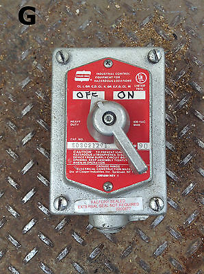 Crouse-Hinds EDSC21271 Explosion Proof Selector Switch Control Station