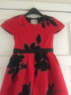 Beautiful red girls NEXT dress. age 8.  party wedding occasion