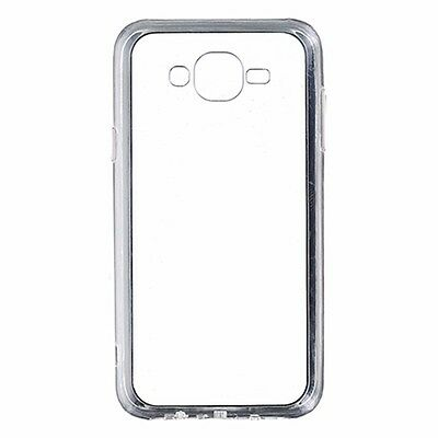 Bundle Pack for Samsung Galaxy J7 Tempered Glass Screen Protector and Clear Case