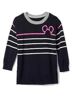 Clothing, Shoes & Accessories Gap Baby Girl Stripe Heart Sweater Tunic Sweater Nwt 2t 3t 4t N11 Nnn