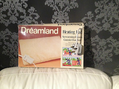 Dreamland Electric Heat Pad.Warms Your Aches Away