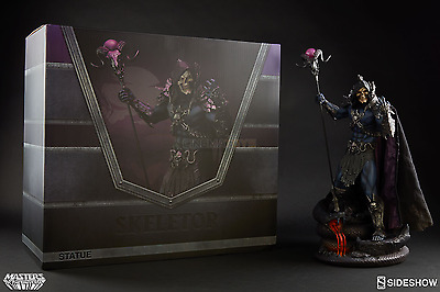He-Man and Masters of the Universe Overlord Evil Skeletor Sideshow Statue MOTU