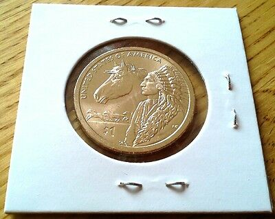 2012 P Sacagawea Native American Dollar Coin Uncirculated BU Philadelphia