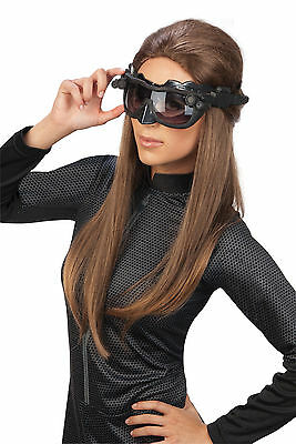 Catwoman Batman Cat Women Costume Headpiece Eyemask Goggles Mask Ears Kit