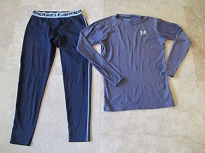 Lot, 2 mens size XL Under Armour compression pants, shirt, top