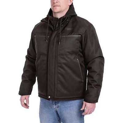 Milwaukee Men's Large M12 12V Li-Ion Cordless Black 3-in-1 Heated Jacket 251B20