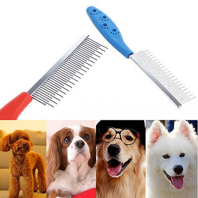 Trimmer Grooming Comb Brush Comb Rake Hair Shedding Flea For Pet Cat Dog
