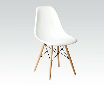 Phenomenal Accent Chairs White Finish By Acme Furniture 133 23 Theyellowbook Wood Chair Design Ideas Theyellowbookinfo
