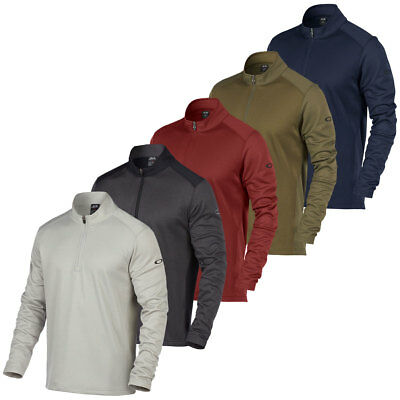 Oakley Golf 2017 Mens Range Pullover 1/4 Zip Sweater Jumper