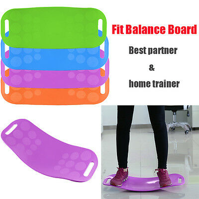 Balance Board Legs Core Workout FIT Sport Yoga Balance Trainer Fitness Muscle AU