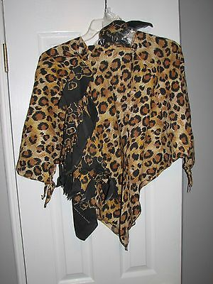 NEW UNIQUE HANDMADE WOMEN'S LEOPARD PRINT Top and Dress and More, One of a Kind!
