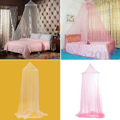 Lace Mosquito Mesh Canopy Princess Round Dome Bedding Net For Queen Single Bed