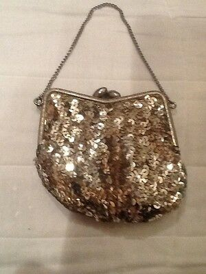 Vintage Sequin Evening Purse
