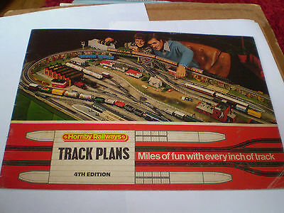 HORNBY MODEL RAILWAYS TRACK PLANS TOY CATALOGUE 1976 4th EDITION NR EXCELLENT