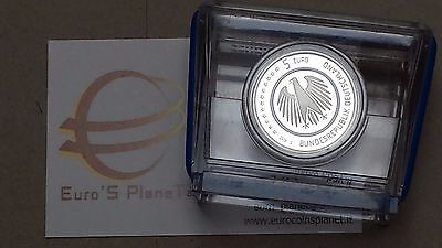 5 euro 2016 Fs BE PP Proof Specchio Germania Erde Allemagne Alemania Germany