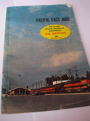 PACIFIC FAST MAIL MODEL RAILWAYS CATALOGUE 1960's USA EDITION V GOOD FOR AGE