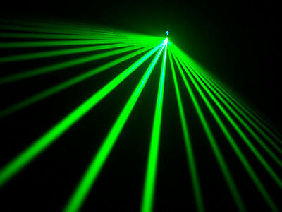 """Laser effect line linear fan diffraction grating film 4"""" X or Y axis light show"""