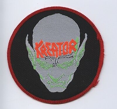 Kreator 'Coma Of Souls' Red Border Vintage 90's Patch RARE FREE SHIPPING !!