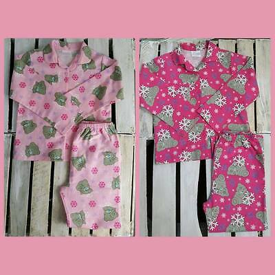 Girls Me To You Tatty Teddy Cotton Pyjamas (K-35)