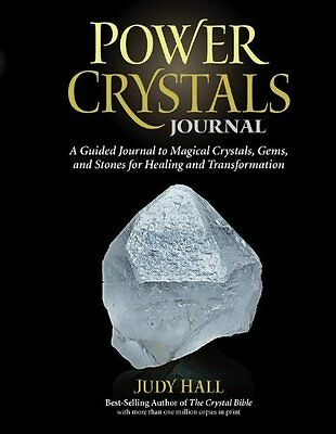 Power Crystals Guided Journal by Judy H. Hall New Hardback Book