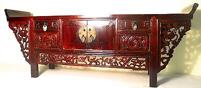 Antique Chinese Petit Altar (5069), Cypress/Elm Wood, Circa 1800-1849