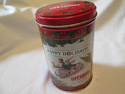 Vintage 1989 Lifesavers Limited Edition - Holiday Keepsake Tin