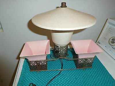Vintage Mid Century Modern Tv Lamp Planter Unique Pagoda Style Mcm