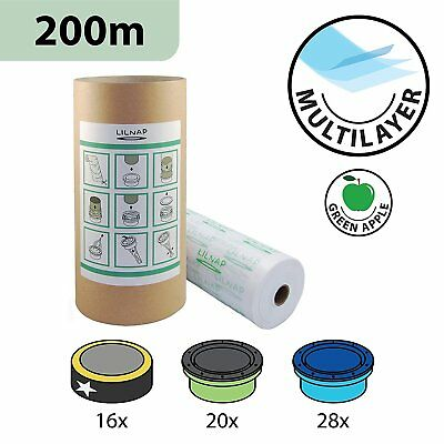 200m refill film for Sangenic Tommee Tippee / Tec -  correspond to 16 cassettes
