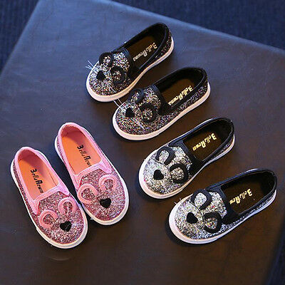 Fashion kids Children's Sequins casual  shoes  girls casual Sneakers
