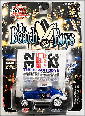 """BEACH BOYS """"Little Deuce Coupe"""" 32 Ford Highboy Die Cast Car Racing Champions"""