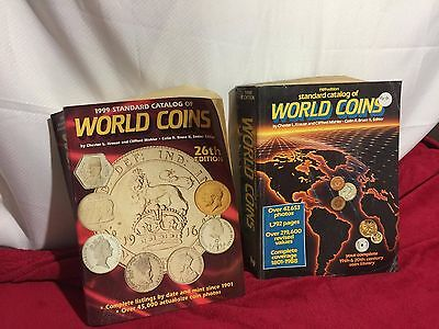 Standard Catalog Of World Coins 1989 & 1999 Editions By Krause & Mishler