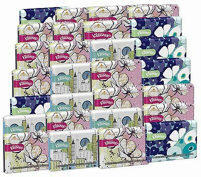 Kleenex Everyday Tissues Wallet 10-Count (Pack of 30) Assorted Designs 30 Pack