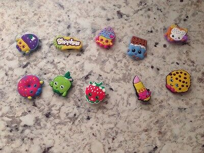 New Without Tags Shopkins Shoe Charms Set Of 10 USA Seller Free Shipping