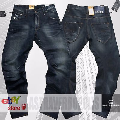 G STAR RAW ARC 3D Loose Tapered Mens Jeans 3301 Usher G Star