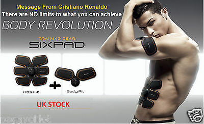 MTG SIXPAD ABS FIT+BODY FIT Complete Set (Deliver from London)