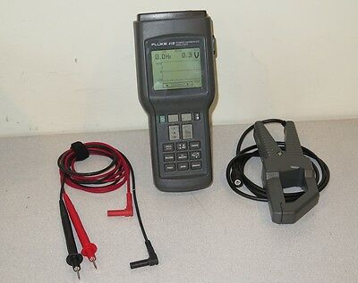 Fluke 41B Digital Power Harmonics Analyzer with 80i-500s AC Current Probe