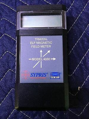 Sypris ELF Meter for measuring electromagnetic fields - hardly used.