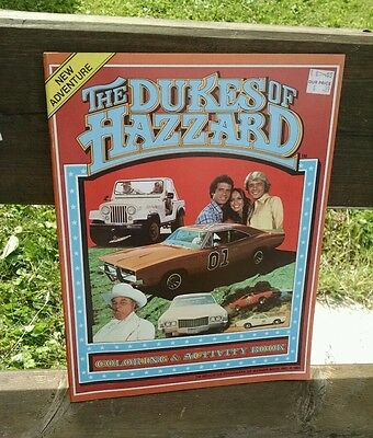 1981 Dukes Of Hazzard Vintage SUPER CLEAN Tin Metal Garbage Can Grail Piece